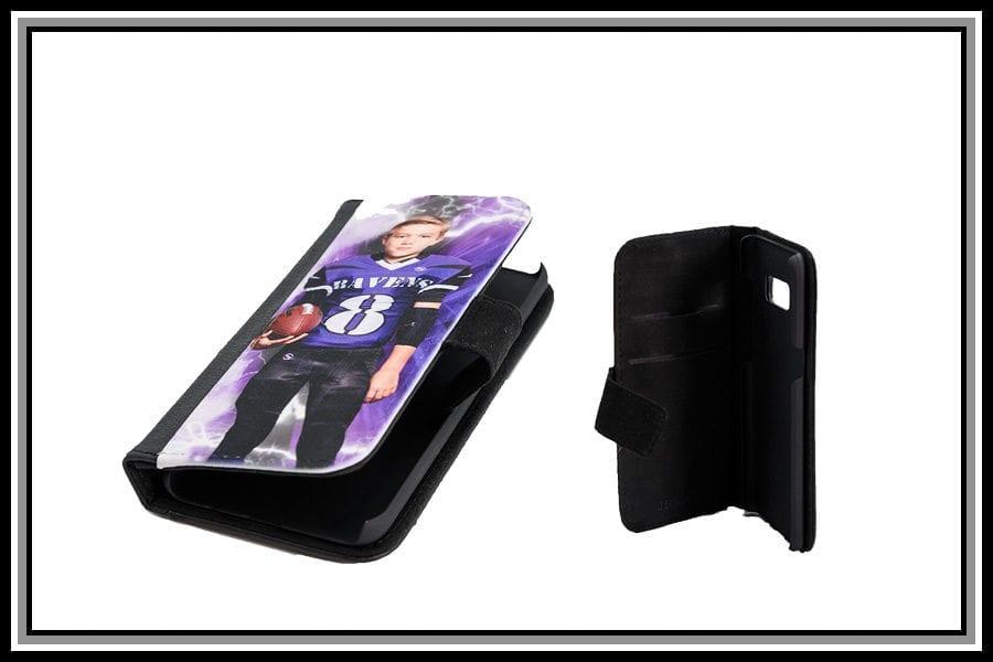 Bi-fold Wallet-Style Cell Phone Case