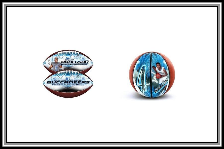 mini football or basketball